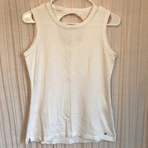 Kate Spade White Tank Top Lightly Worn, Size Small